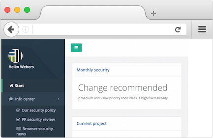Trackman Up (monthly Rails security) web interface